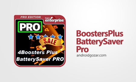 BOOSTERS PLUS BATTERYSAVER PRO 5.9.4 Patched دانلود نرم افزار تقویت موبایل