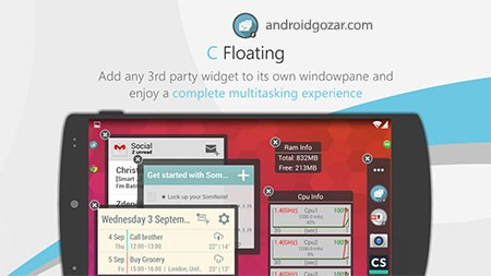 C Floating Prime 1.1.15 دانلود نرم افزار ویجت و میانبر شناور