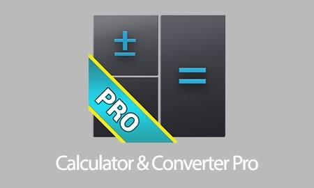 Calculator & Converter Pro 4.3.13 تبدیل واحدها و ماشین حساب حرفه ای