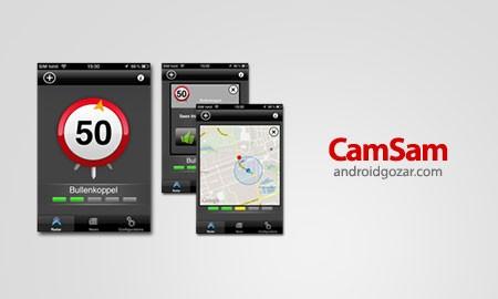 CamSam PLUS 2.7.6 اطلاع از دوربین کنترل سرعت با اندروید
