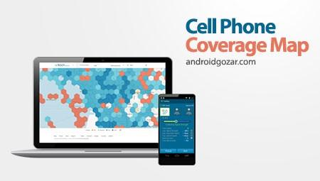 Cell Phone Coverage Map 2.4.2 بررسی قدرت سیگنال شبکه