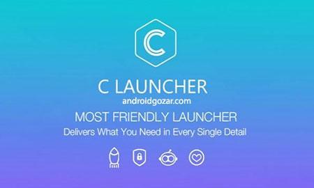 C Launcher – Launch app 3.7.9 دانلود لانچر شگفت انگیز