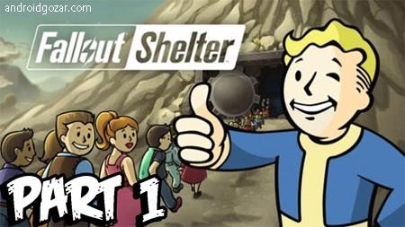 Fallout Shelter 1.12 دانلود بازی پناهگاه فال اوت شلتر اندروید+مود+دیتا