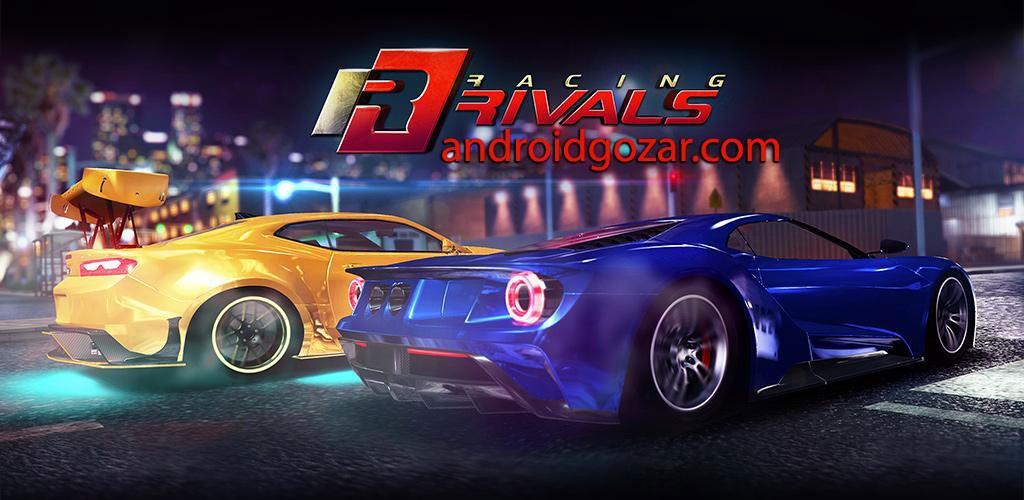 Racing Rivals 6.3.1 دانلود بازی اتومبیل رانی رقبای مسابقه اندروید + مود + دیتا