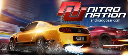 Nitro Nation Online 4.0.14 دانلود بازی ماشین سواری درگ اندروید+مود+دیتا