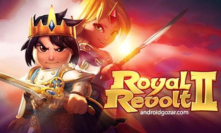 Royal Revolt 2 2.6.7 دانلود بازی شورش سلطنتی 2 اندروید