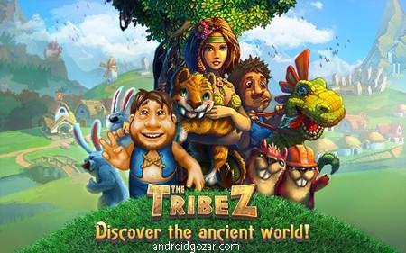 The Tribez 6.2.0 دانلود بازی استراتژیکی قبیله ها +مود+دیتا