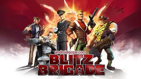 Blitz Brigade – Online FPS fun 2.7.1a دانلود بازی اکشن حمله رعد آسا+مود