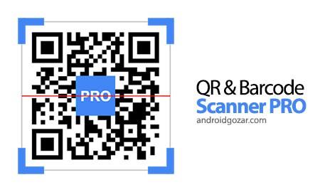QR & Barcode Scanner PRO 1.44 نرم افزار اسکن بارکد اندروید