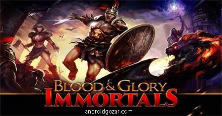 BLOOD & GLORY 1.1.6 دانلود بازی خون و افتخار+دیتا