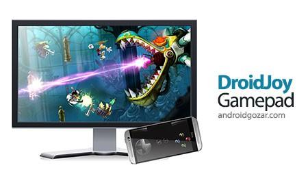 DroidJoy Gamepad 1.3 Paid دانلود نرم افزار تبدیل موبایل به گیم پد کامپیوتر
