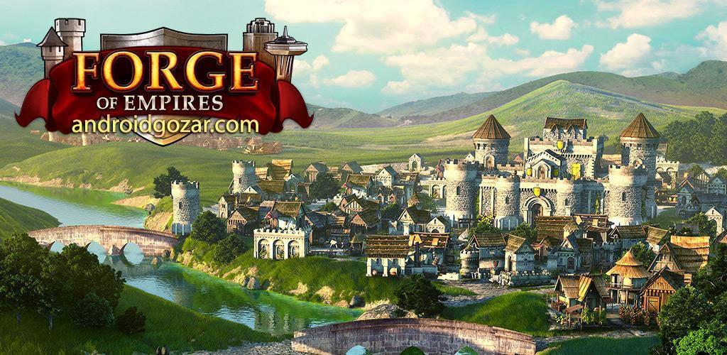 Forge of Empires 1.99.0 دانلود بازی استراتژیک توسعه امپراطوری ها اندروید