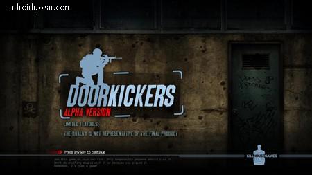 Door Kickers 1.0.57 دانلود بازی کماندویی گروه ضربت+مود+دیتا