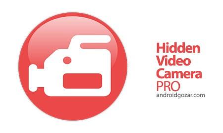 Hidden Video Camera PRO 1.7 دانلود نرم افزار دوربین فیلمبرداری مخفی