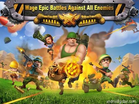 Battle Glory 4.06 دانلود بازی استراتژیک شکوه نبرد اندروید