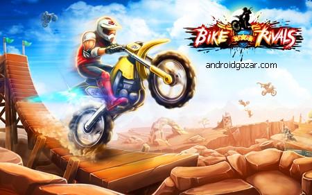 Bike Rivals 1.5.2 دانلود بازی مسابقات موتور سواری+مود
