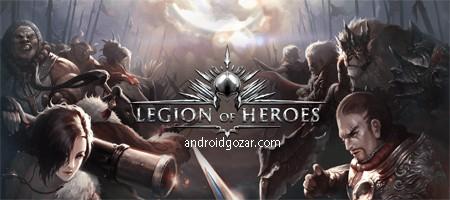 Legion of Heroes 1.8.07 دانلود بازی لژیون قهرمانان اندروید