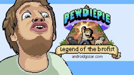 PewDiePie: Legend of Brofist 1.4.0 دانلود بازی افسانه بروفیست+دیتا+مود