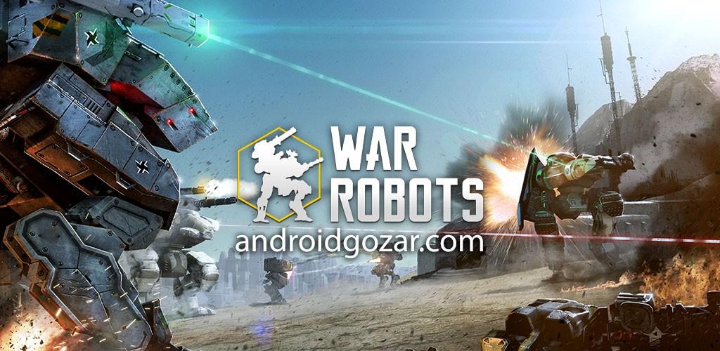 War Robots 2.8.0 دانلود بازی نبرد ربات ها اندروید + مود + دیتا