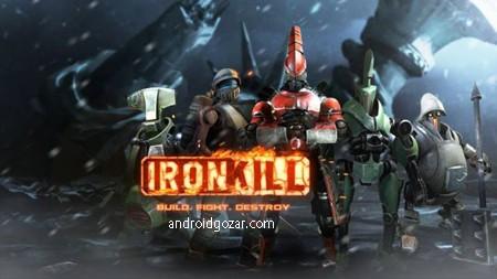Robot Fighting Games Iron Kill 1.9.167 دانلود بازی مبارزه ربات ها اندروید + مود