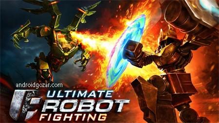 Ultimate Robot Fighting 1.0.148 دانلود بازی مبارزه نهایی ربات ها+مود+دیتا