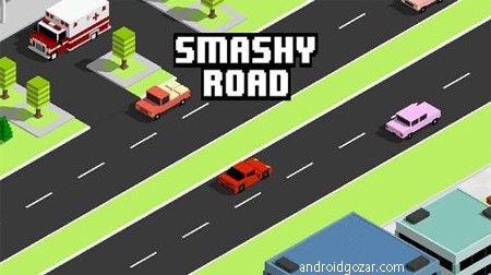 Smashy Road: Wanted 1.1.7 دانلود بازی ماشین سواری تحت تعقیب+مود