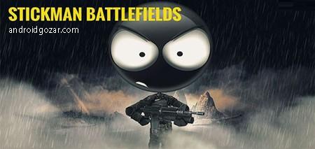 Stickman Battlefields 2.0.0 دانلود بازی میدان های جنگ استیک من+مود