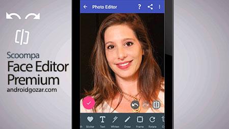 Photo Editor & Perfect Selfie Premium 7.4 نرم افزار ویرایش چهره اندروید