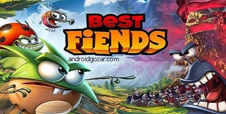 Best Fiends 4.0.1 دانلود بازی بهترین شیطان ها اندروید + مود