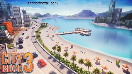 City Island 3 – Building Sim 1.5.5 دانلود بازی جزیره شهر 3 – ساختمان سازی+مود