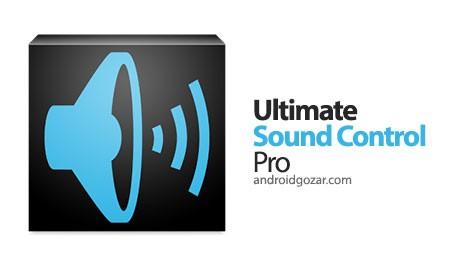 Ultimate Sound Control Pro 1.2 دانلود نرم افزار کنترل صدای دستگاه