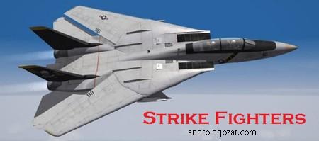 Strike Fighters 1.16.0 دانلود بازی ضربت جنگنده ها + مود