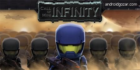 Call of Mini™ Infinity 2.6 دانلود بازی ندای کوتاه بی نهایت+مود+دیتا