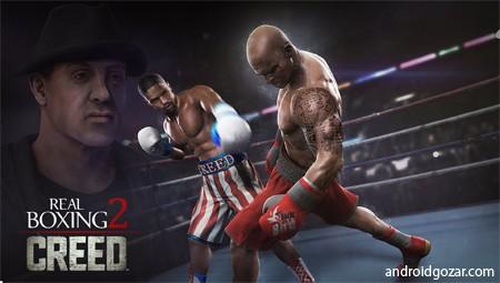 Real Boxing 2 ROCKY 1.4.0 دانلود بازی بوکس واقعی 2+دیتا+مود