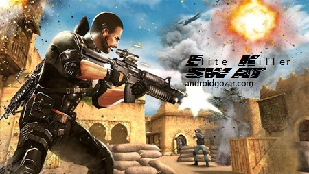 Elite Killer: SWAT 1.3.1 دانلود بازی آدمکش ویژه: گروه ضربت + مود