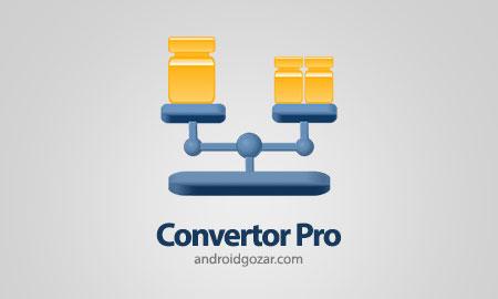 Convertor Pro 8.0 دانلود نرم افزار تبدیل واحد ها
