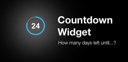 Countdown Widget for Events Premium 1.2.7 دانلود ویجت شمارش معکوس