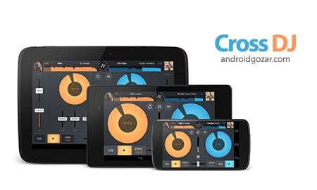Cross DJ Pro 3.1 نرم افزار میکس آهنگ و دی جی حرفه ای اندروید