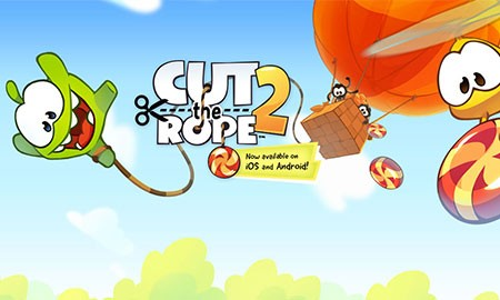 Cut the Rope 2 1.6.8 دانلود بازی طناب را ببر 2 + مود