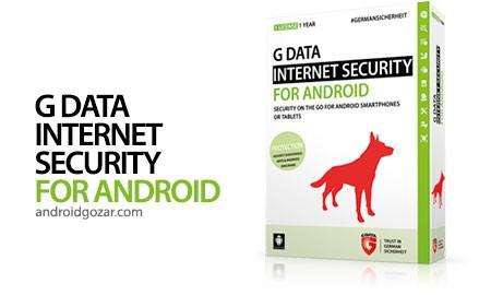 G DATA INTERNET SECURITY 25.8.48b39158 دانلود نرم افزار امنیتی اندروید