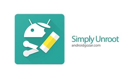 Simply Unroot Pro 8.0.5 دانلود نرم افزار آنروت کردن اندروید