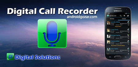 Digital Call Recorder Pro 2.55 Patched دانلود نرم افزار ضبط تماس دیجیتال
