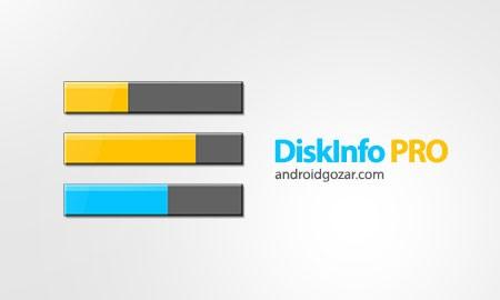 DiskInfo PRO 4.9.8 مشاهده اطلاعات دیسک و پارتیشن اندروید
