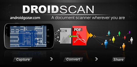 Droid Scan Pro PDF 6.2 دانلود نرم افزار اسکن اسناد
