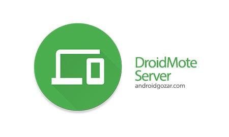 DroidMote Server 3.7.1 Patched کنترل از راه دور WiFi اندروید