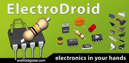 ElectroDroid Pro 3.7 دانلود نرم افزار ابزارهای الکترونیکی