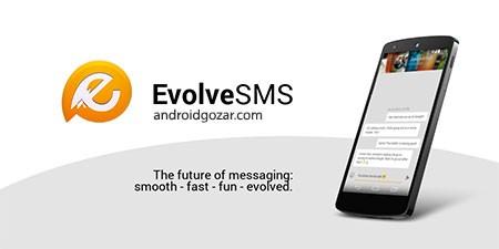 EvolveSMS FULL 4.9.0 دانلود نرم افزار مدیریت پیامک اندروید