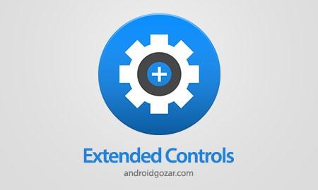 Extended Controls 6.1.2 دانلود نرم افزار ویجت توسعه و سفارشی کردن اندروید