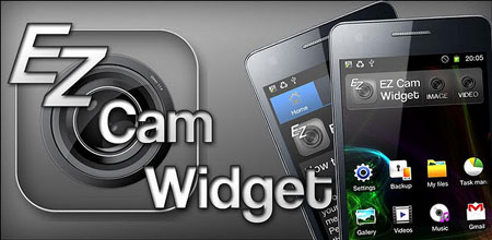 EZ Cam Widget 1.12 دانلود ویجت عکاسی و فیلمبرداری سریع