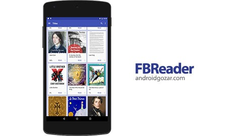 FBReader Premium 2.7.6 Patched نرم افزار کتابخوان اندروید